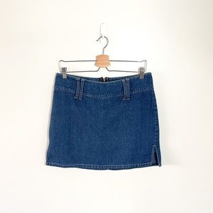 Vintage Y2K Style Nevada Mini Jean Skirt Size 10